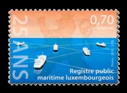 Luxembourg 2016 Mih. 2083 Luxembourg Marine Register. Ships MNH ** - Luxembourg
