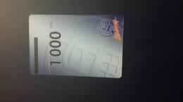 Central African Republic  Libertury-(1card)-(1000fcfa)-mint+1card Prepiad Free - Central African Republic