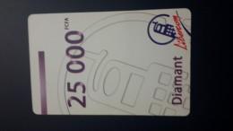 Central African Republic  Libertury-(1card)-(25.000fcfa)-mint+1card Prepiad Free - Repubblica Centroafricana