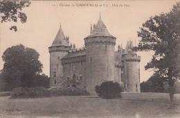 Cp , 35 , COMBOURG , Le Château , Côté Du Parc - Combourg
