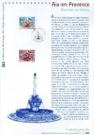 """(Prix à La Poste = 5.00 €) Document Officiel DPO 2005 N° 21 05 513  """" AIX-EN-PROVENCE """" N° YT  3777 - 2000-2009"""