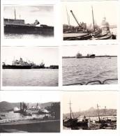 6 OLD PHOTO'S : BOATS & SHIPS - Boten