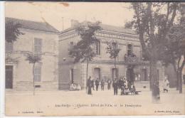 ALGERIE.  AIN BEIDA.  HOTEL DE VILLE ET LE PRESBYTERE.  CPAA AN 1922 - Altre Città