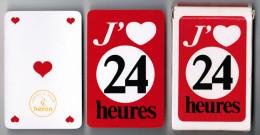 JEU DE 36 CARTES AVEC ETUI J'AIME 24 HEURES FONDE A LAUSANNE EN 1762  LE GRAND QUOTIDIEN SUISSE CARTES A JOUER HERON - Cartes à Jouer Classiques