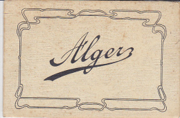 ALGERIE. ALGER. CARNET DE 12 PHOTOS - Alger