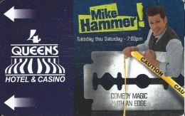 Four Queens Casino Las Vegas Hotel Room Key Card - Hotel Keycards