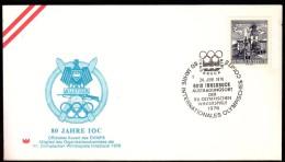Austria Innsbruck 1974 Olympic Games Innsbruck 1976 80 Years Of IOC Cancel No. 3 - Invierno 1976: Innsbruck