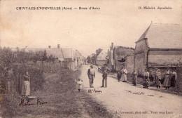Chivy Les Etouvelles : Route D Anizy - France