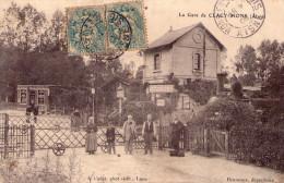 Mons En Laonnois : La Gare - France