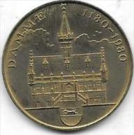 FAMILLE VANDAMME 1180-1980 DAMME - Gemeentepenningen