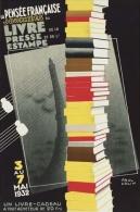 @@@ MAGNET - LA PENSEE FRANCAISE JOURNEES DU LIVRE DE LA PRESSE ET DE L'ESTAMPE. 1932. - Reclame