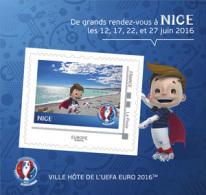 "France 2016 - Collector ""Euro Foot"" (ville Hôte Nice) - Collectors"