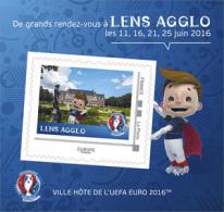 "France 2016 - Collector ""Euro Foot"" (ville Hôte Lens Agglo) - Collectors"