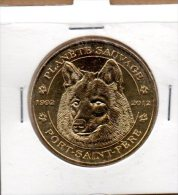 Monnaie De Paris : Planète Sauvage - Le Loup - 2012 - 2012