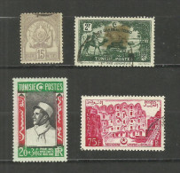 Tunisie N°24, (152 Taché Offert), 304, 382 Cote 5.80 Euros - Tunisia (1888-1955)