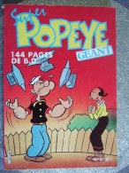 SUPER POPEYE GEANT  N°3 /MARS AVRIL 1987 - Andere Magazine