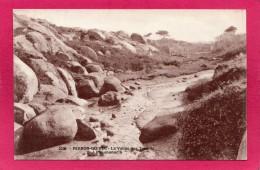 22 COTE-d'ARMOR  PERROS-GUIREC, La Vallée Des Troéros à Ploumanac'h, (Comptoirs Photo, Perros) - Perros-Guirec