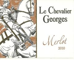 34 SAINT GEORGES D ORQUES ETIQUETTE PUBLICITE MERLOT  METIER VIN VIGNERON CHEVALIER GEORGES - Etiquettes