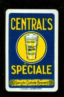 Speelkaart ( 030 ) Dos D´ Une Carte à Jouer Bier Bière Bieren Bières Brasserie Brouwerij - Ypres  Ieper - Barajas De Naipe