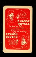Speelkaart ( 031 ) Dos D´ Une Carte à Jouer Bier Bière Bieren Bières Brasserie Brouwerij - Chasse Royale - Barajas De Naipe