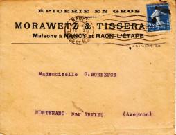 1925 - Lettre à Entête - Raon-l´Étape (Vosges) - Drawetz & Tissera épicerie En Gros - FRANCO DE PORT - Sonstige