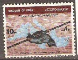 Libya 1967 SG 399 Mediterranean Games Fine Used. - Libya