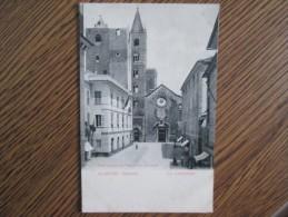ALBENGA . LA CATTEDRALE . DOS 1900 - Otras Ciudades