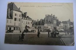 CPA 71 CHALON SUR SAONE. Place De L Hôtel De Ville. - Chalon Sur Saone