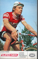Photo Format CP  : Jacques Fussien (cycliste) équipe Gitanes (PPP2531) - Ciclismo