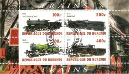 Burundi & Classic Trains 2010 (7) - Trenes