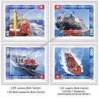 Switzerland 2016 (1/2016) 75 Years Of The Swiss Merchant Fleet Ship Tanker Bulk Carrier MNH - Ships