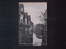 POSTCARD CANTERBURY THE SWEAVING SCHOOL (REGNO UNITO) - Unclassified
