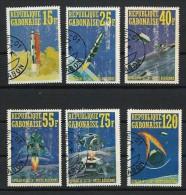 "Gabon Aérien YT ??? Non Référencé "" Apollo 14 "" 1971 1er Jour - Gabon (1960-...)"