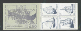 SUEDE 1981 - CARNET  YT C1134 - Facit H331 - Neuf ** MNH - Bateaux De Paysans De Différentes Régions - Carnets