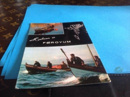 Boats From Faroes Foroyum 1975 - Färöer