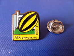 Pin´s Rugby - Aix Université - Aix En Provence (PJ53) - Rugby