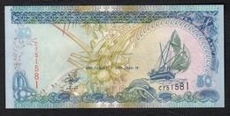 MALDIVE : Banconota 50 Rufiaa - 2000 - FDS - Maldive