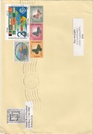 Iran 1997  - Lettera   X L´Italia Affrancata Con 5 Stamps - Iran