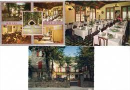 3 Cpsm Vizzavona, Hôtel Monte D'Oro - Autres Communes