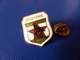 Pin´s Rugby - Zimbabwe - Blason écusson (PJ65) - Rugby