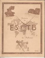 68 Mulhouse Bullettin De L' Ecole Supérieure De Filature Tissage Bonneterie 1949 Illustrations De FEY WOLFF Publicités - Alsace
