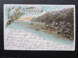 AK ABBAZIA Litho 1898 /// D*19423 - Kroatien
