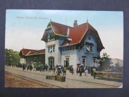 AK BISTRIK B. SARAJEVO Bahnhof Station Ca.1910  /// D*19427 - Bosnie-Herzegovine