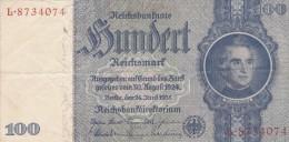 Reichsbanknote 1935 - [ 4] 1933-1945 : Troisième Reich