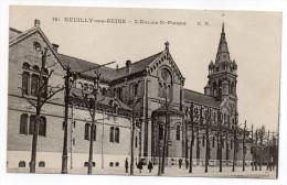 NEUILLY-SUR-SEINE-- L´église Saint-Pierre (petite Animation) N°781 éd E.M - Bitche