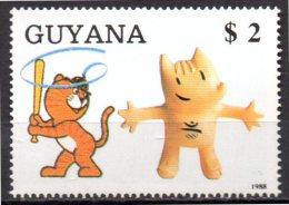 GUYANE    N° 2050 FC    * *  ( Cote 4.50e )  Jo 1988   Mascotte - Summer 1988: Seoul