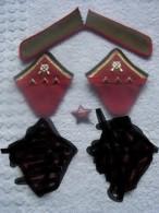 Lot Insignes  Soviet Urss  Mod 35 - Equipment