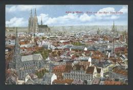 0. CPA - Allemagne - KOLN A RHEIN - COLOGNE - Blick Von Der Herz Jesu-kirche   // - Koeln