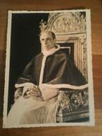CARTOLINA PAPA PIO XII FOTO - Popes