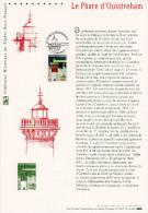 """Prix à La Poste = 5.00 €. Document Officiel  De 2004 """" LE PHARE D´OUISTREHAM """". N° YT 3715. Parfait état ! DPO - 2000-2009"""